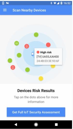 blueborne device risk results