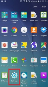 setup android pattern lock screen-unlock your device