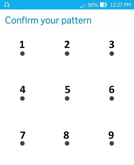android pattern lock idear 1