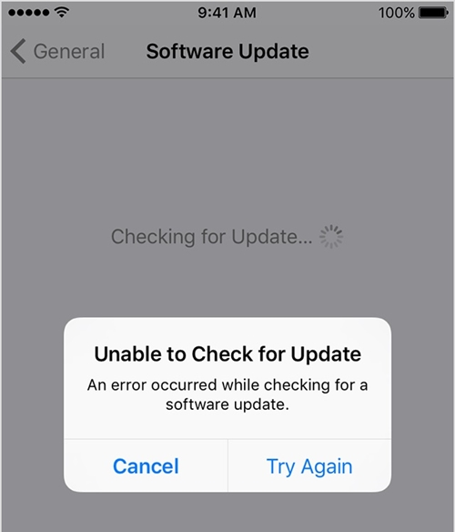 can't find ios 11 update