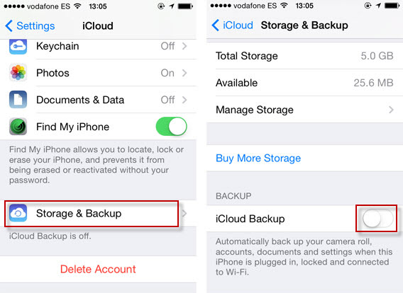 iphone not backing up solved there was a problem enabling icloud backup dr fone 1589