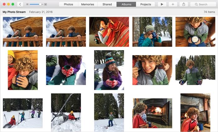 从mac访问icloud照片