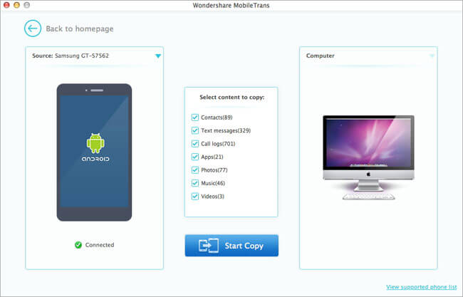 Android to Android File Transfer Mac