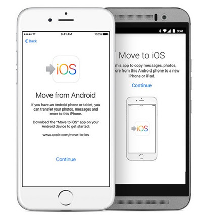 use Move to iOS app to sync Galaxy contacts to iPhone