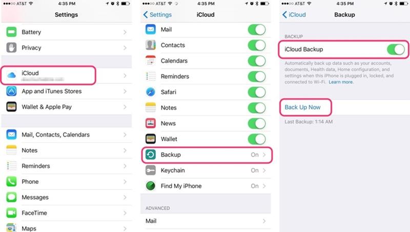 sincronizzare i contatti da iphone a ipad con la sincronizzazione icloud