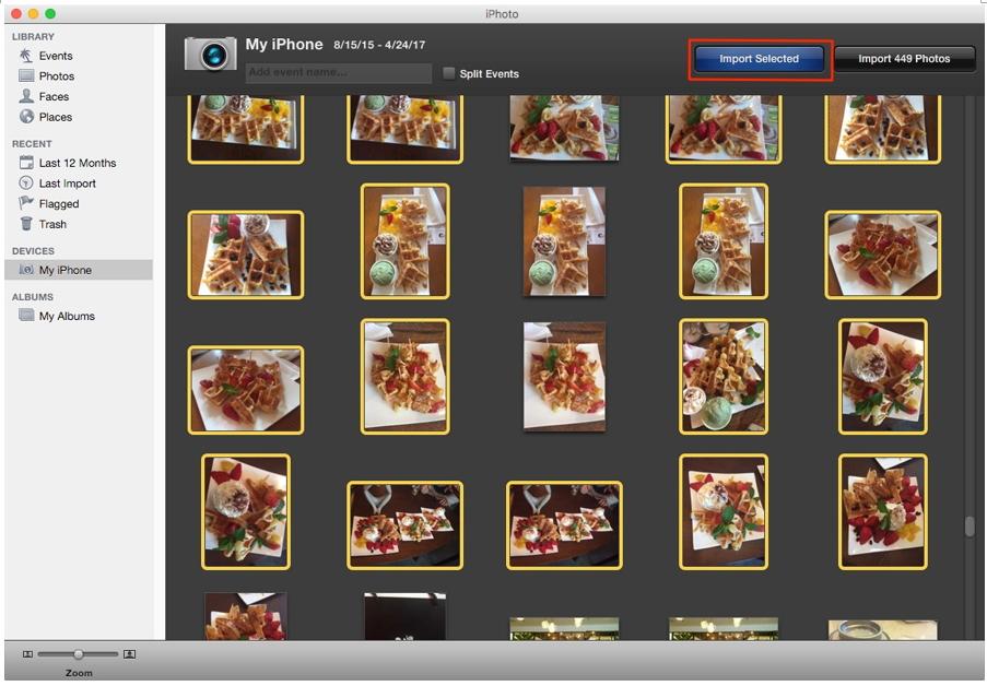 如何使用iPhoto将照片从iPhone传输到Mac