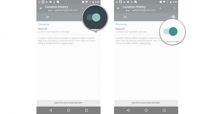 Track with Google's ADM-activate the device