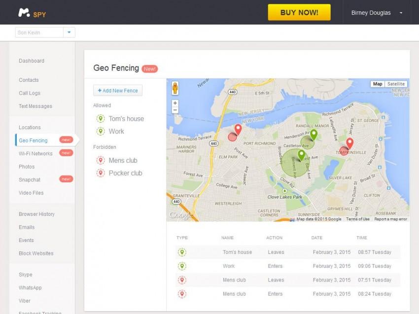 Track someone's Phone via mSpy-see detailed records