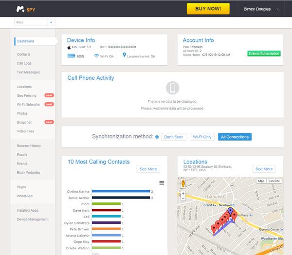 iPhone Monitoring Software-mSpy