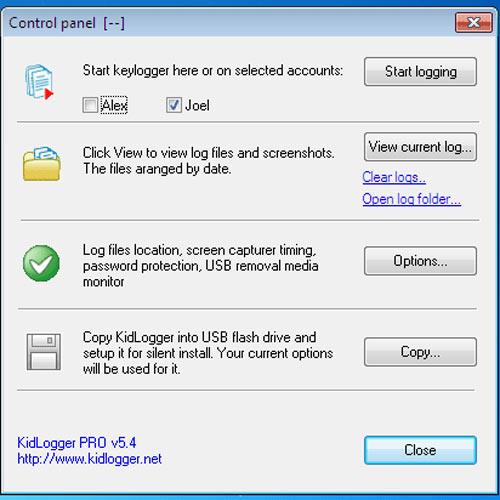 iPhone Monitoring Software-Kidlogger