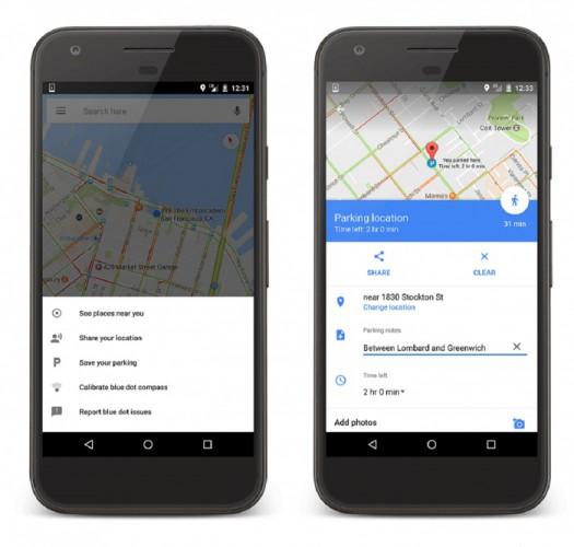Car Locator Apps-Google Maps