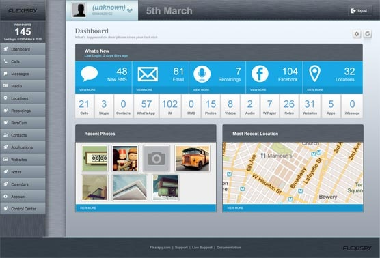 Phone Monitoring Apps-FlexiSPY