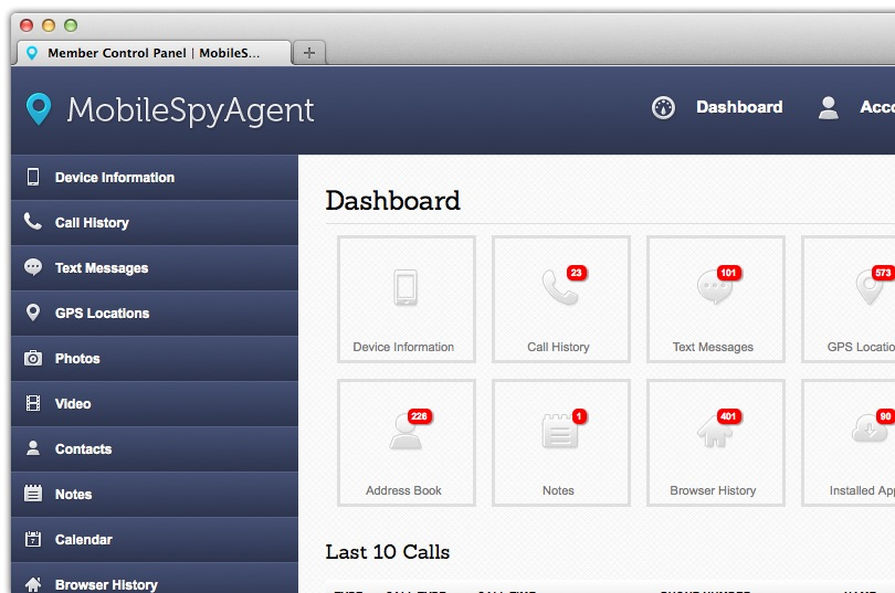 Phone Monitoring Apps-Mobile Spy Agent