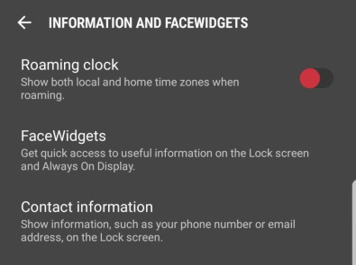 change Samsung lock screen clock-Roaming Clock