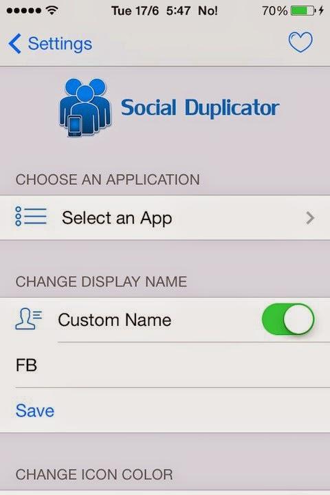 Clone Phone Apps-Social Duplicator