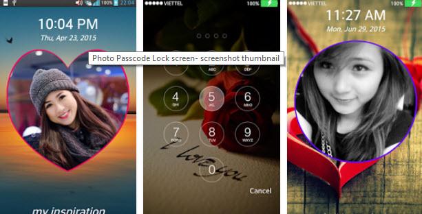 top Photo Keypad Lock Screen Apps-Photo Passcode Lock Screen