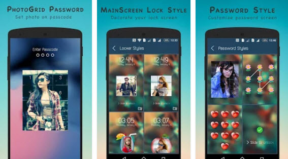 top Photo Keypad Lock Screen Apps-Photo Grid DIY Lock Screen