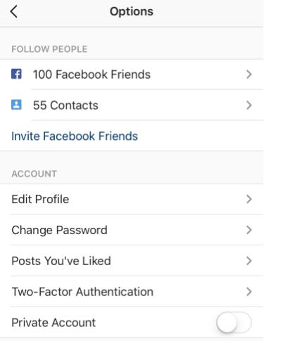 protect your Instagram account-use Two-factor Authentication