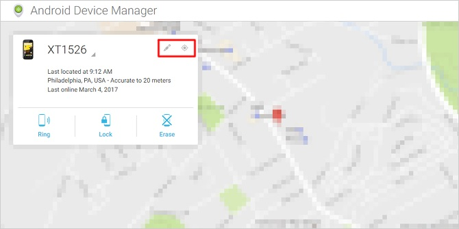 how to trace a cell phone-Android Device Manager