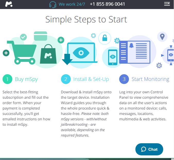 snapchat hack-Start using mSpy