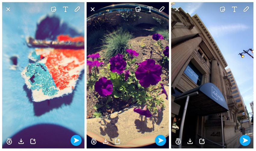 snapchat hack-Use external lenses