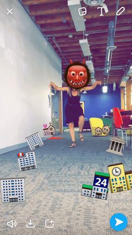 snapchat hack-Have fun with emojis