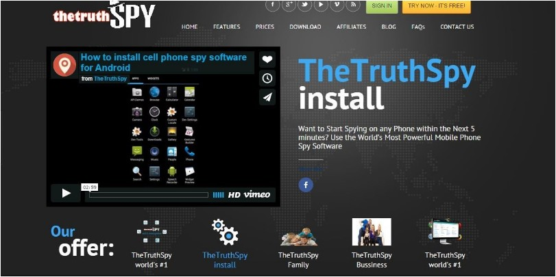 how to hack someones snapchat with theTruthSpy-Install Monitoring app