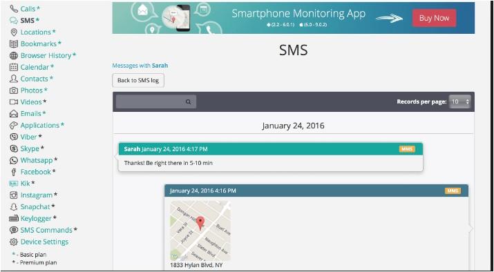 use Pumpic to monitor snapchat