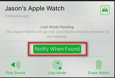 notify when found