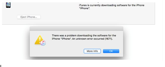 iTunes is currently download software for the iPhone