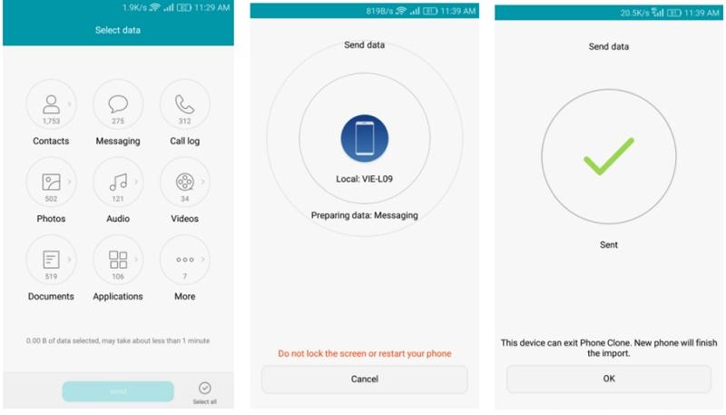 Klonen eines Android-Handys mit Phone Clone