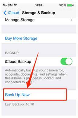 Transfer Apps to Your New Phone-icloud