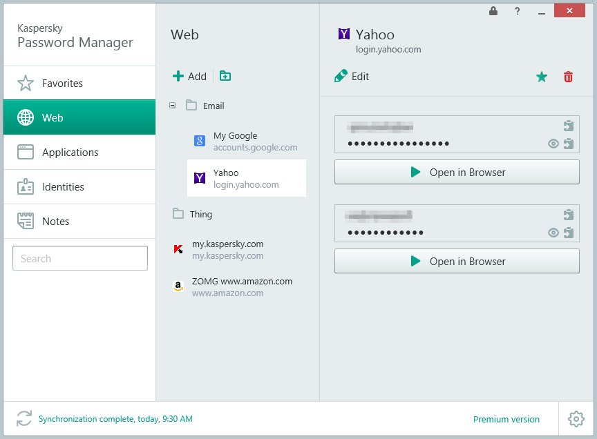 Best Password Manager App-Kaspersky