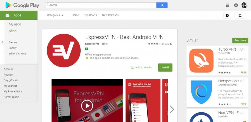install expressvpn app on android