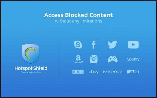 Hotspot shield VPN free vpn tool