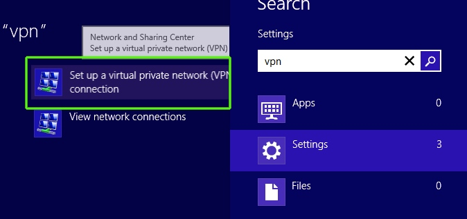 setup a virtual private network on windows