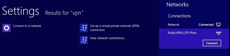 connect to public vpn on windows