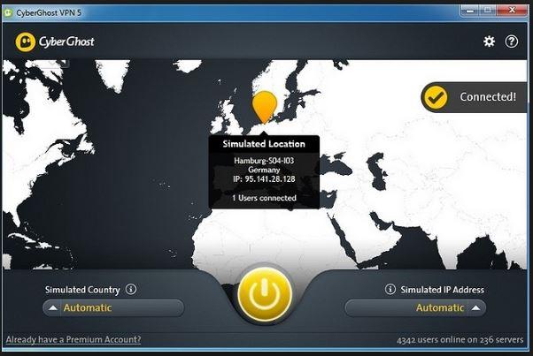 wifi vpn - cyberghost