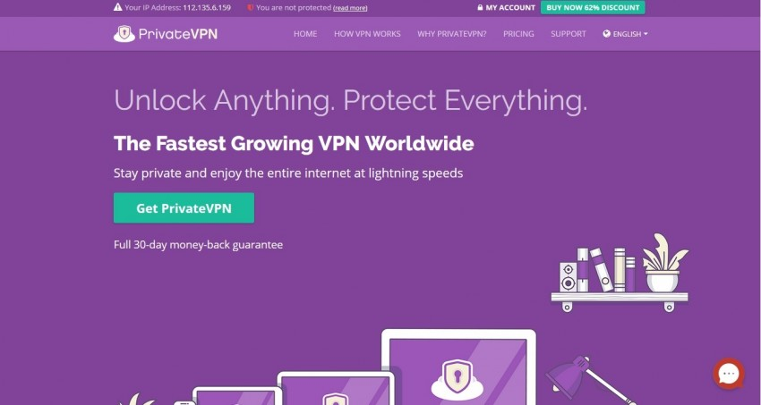 private vpn to work on netflix