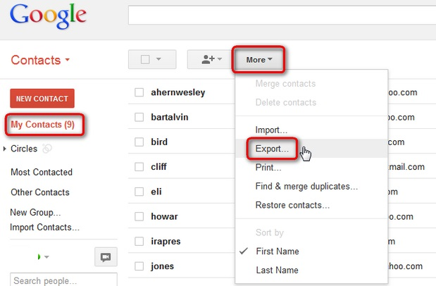How to Import Contacts from Gmail to iPhone?