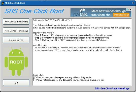 Download srsroot v5. 1 one click root tool for android.