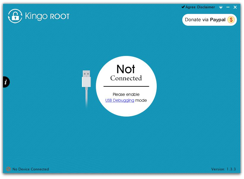 kingo root screen