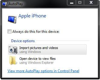 export iphone videos to pc using autoplay
