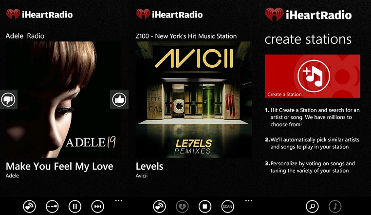 descarga canciones en iphone con iheartradio