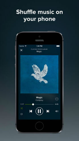download music to ipad with spotify