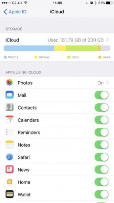get photos off iphone to mac using icloud