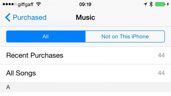 share music on iphone through itunes store