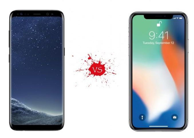 iphone x vs samsung s9