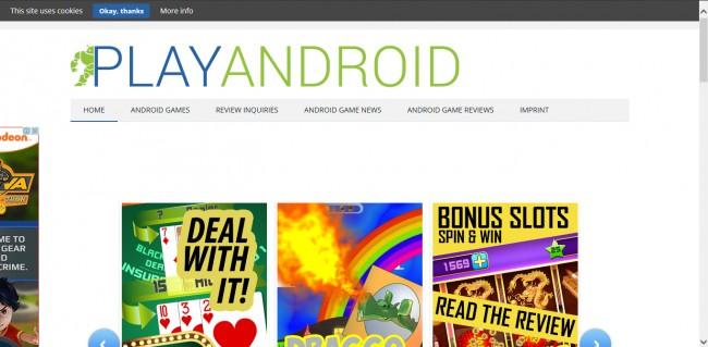 website to download games on android