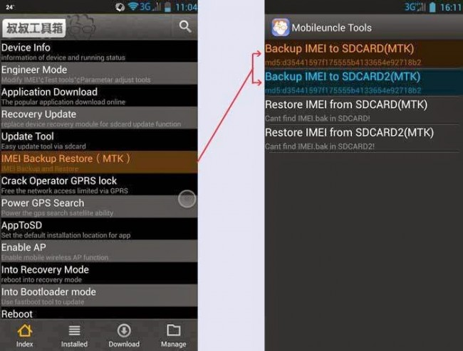 Top Android Root App: MTK Tools or Mobile Uncle Tools